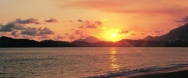 La solitaria y encantadora playa Miramar